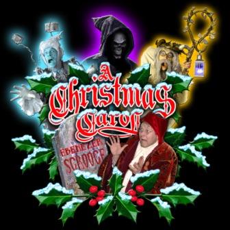 A Christmas Carol Spirits.Dinner Theater A Christmas Carol