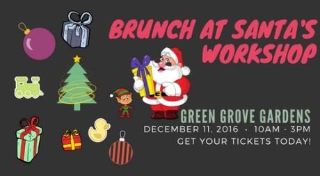 Brunch @ Santa's Workshop