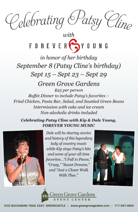 Celebrating Patsy Cline Flyer
