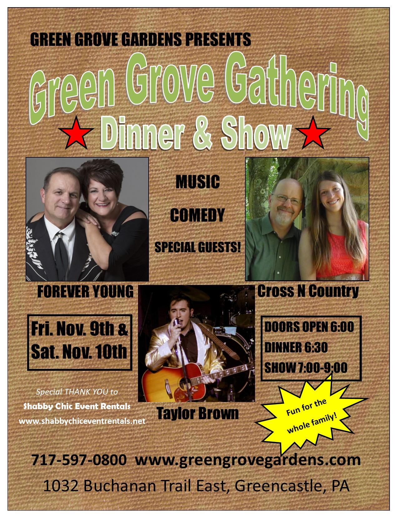 Green Grove Gardens   Greencastle, PA Event Center